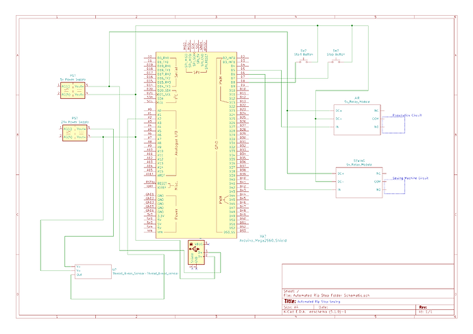 USB powered rip stop schematic