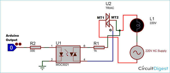 Circuit-Diagram-of-TRIAC-and-Optocoupler-Connection