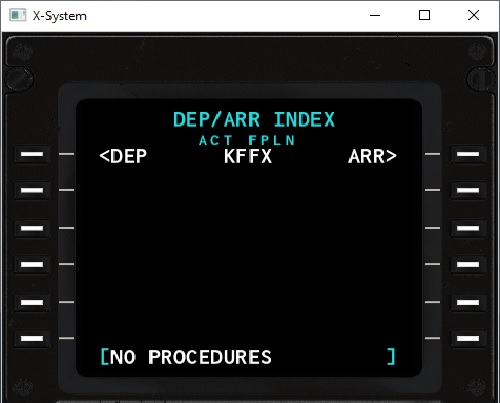 KFFX new install with Navigraph