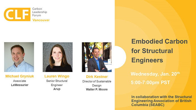 210120 CLF Vancouver - SEABC - Embodied Carbon for Structural Engineers