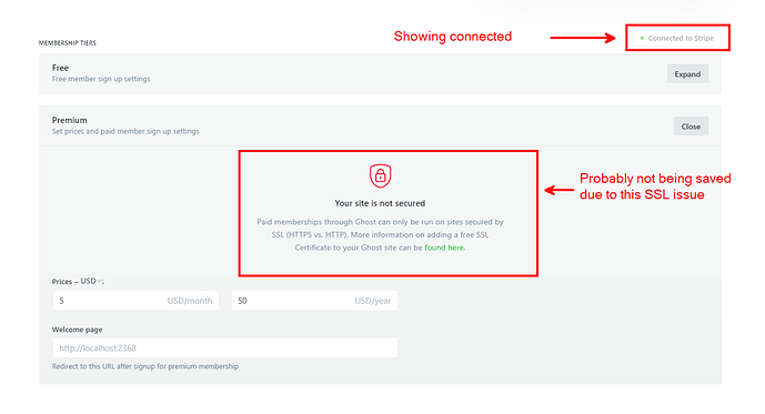 connected-but ssl-issue