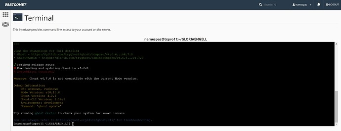 fc-extra-shared-account-cpanel-terminal-ghost-update-fail-on-outdated-node-version-10.15.0