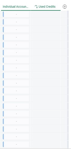 Mirrored Blank Columns to Calculate