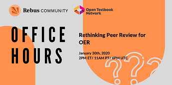 office hours peer review
