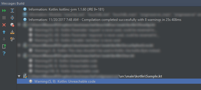 Unreachable code after return statement compiles! - Language