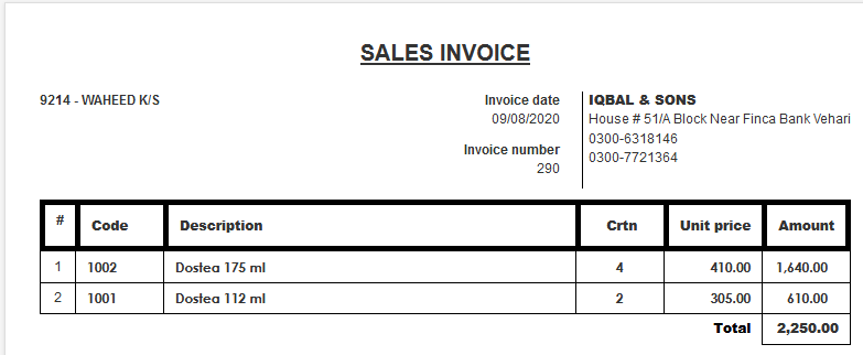 Screenshot_2020-08-10 IQBAL SONS — Sales Invoice — 290 — View