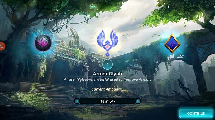 Armor Glyph Dungeon Event