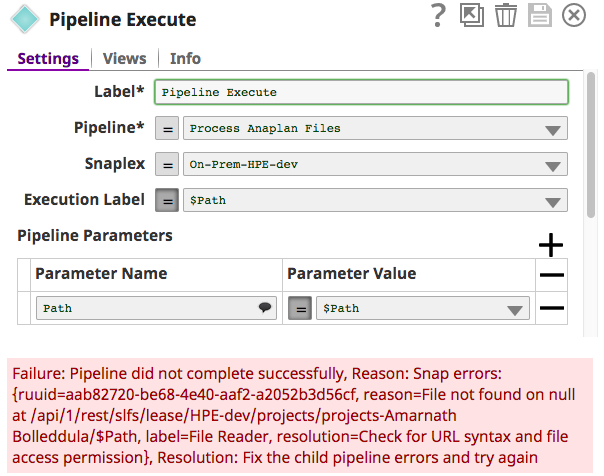 Changed pipeline parameters