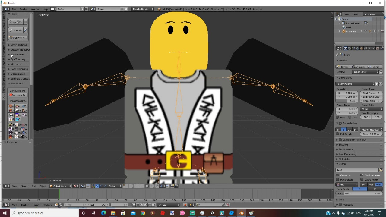 Tutorial How To Make Roblox Avatars Avatars Vrchat Ask Forum