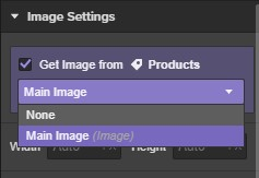 Get secondary images