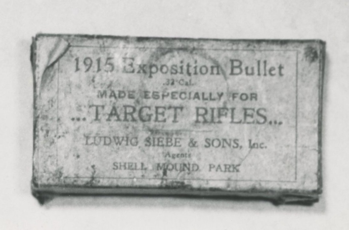 0.32 Cal. 1915 Exposition Bullet, Ludwig Siebe & Sons.