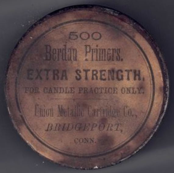 UMC 500 Berdan Primers Extra Strength for Candle Practice Only