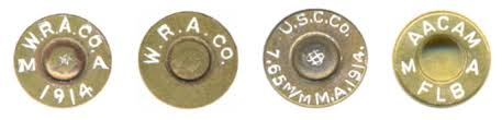 7.65 x 61 Headstamps