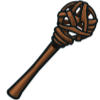 Oak Sphere Staff