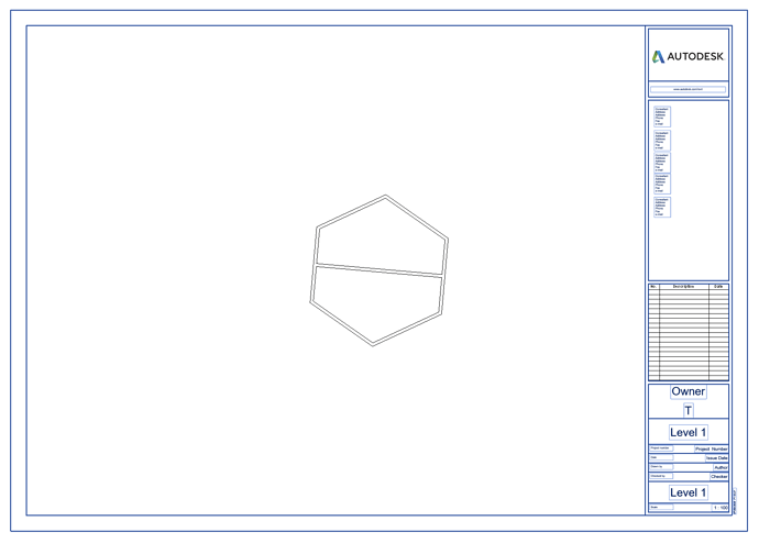Place view on center of sheet2