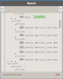 Cavity Barriers Grouped