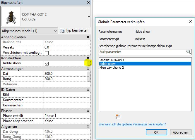 How set parameter yes/no for nest family - Revit - Dynamo