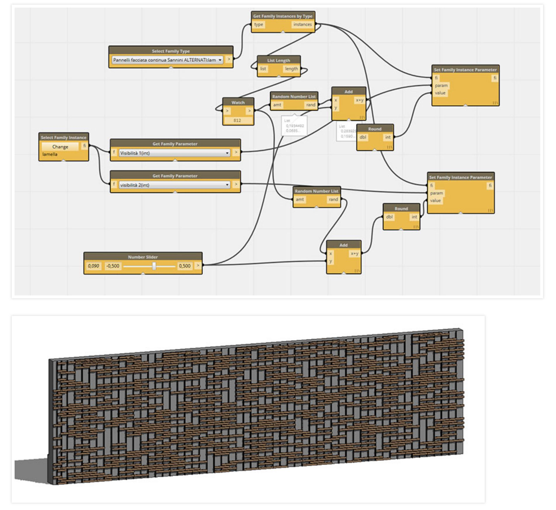 Parametric Brick Wall - Packages - Dynamo