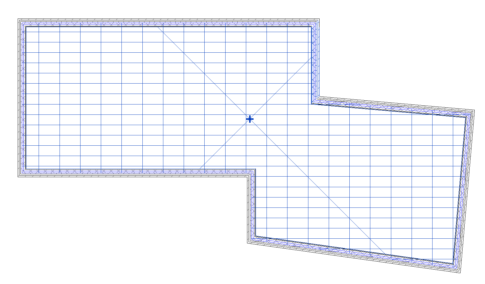 wall Core exterior to floor (room)2