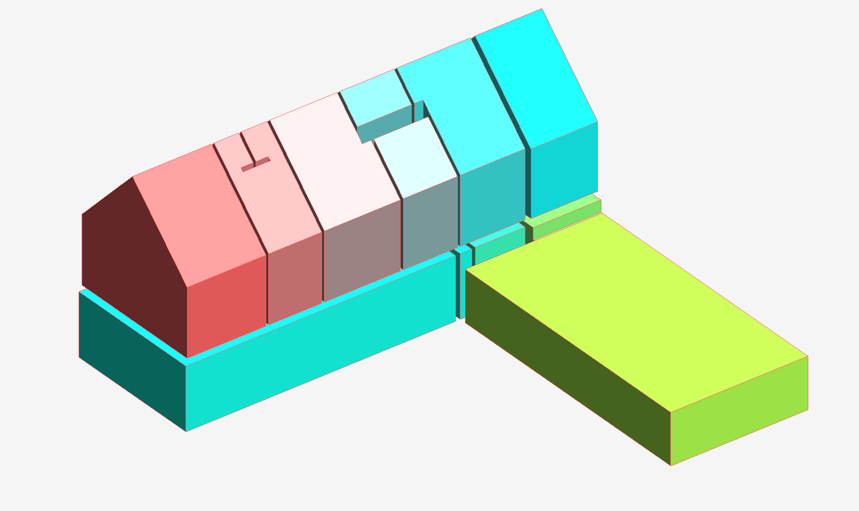 3D Room Color/Colour  Coloured Volumes using spring nodes