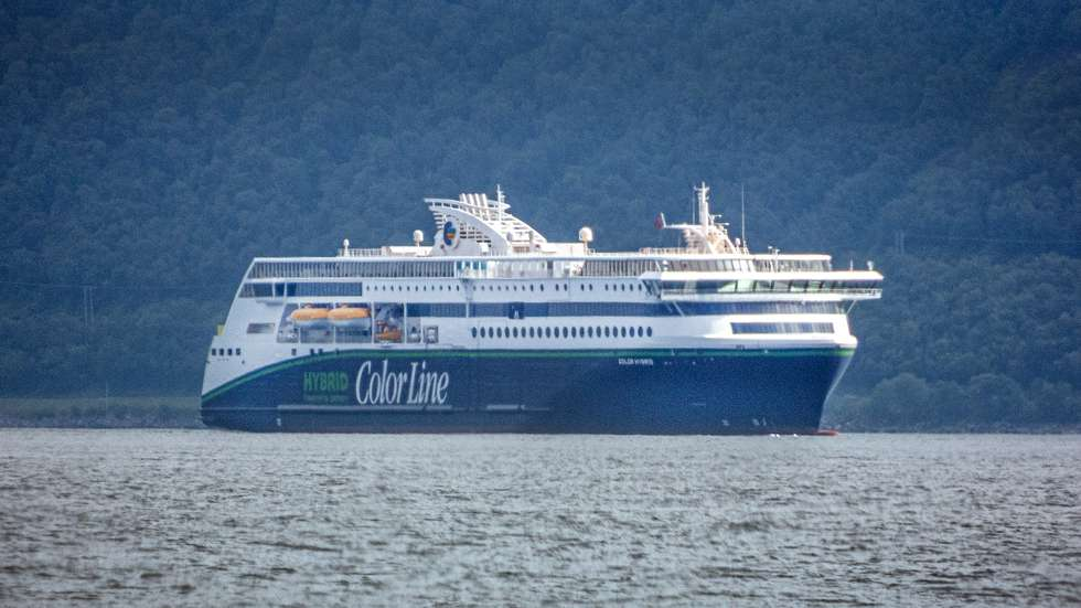 MS Color Hybrid, a cruise line from Color Line will be on the route between Sandefjord in Norway and Strömstad in Sweden. Try out the Vartdalsfjord. Built at Ulstein shipyard in Ulsteinvik (Photo: Staale Wattø)