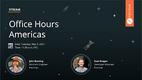 Office Hours Americas 5.4.21