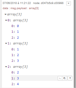 How set the output variable