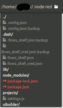 PS: You can install npm-gui to more easily manage your