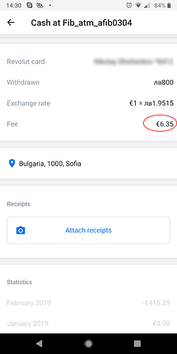 List of ATM's that don't charge a fee - Travelling - Revolut