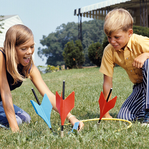 Lawn Darts - The most dangerous game ever