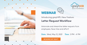 Letter Requests Workflow - 12 MAY 2021