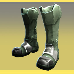 GoldElementalArmor - Gold Armored Boots