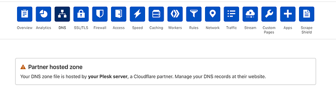 cloudflare-dns-plesk-issue