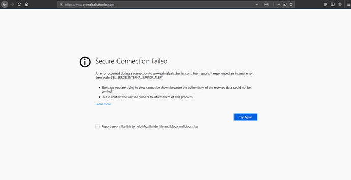 My cloudflare ssl is active and working and active but