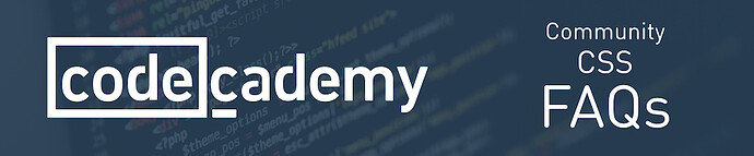 Community%20FAQs%20on%20Codecademy%20CSS%20Exercises