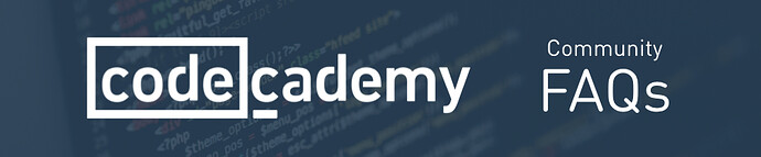 Community%20FAQs%20on%20Codecademy%20Exercises