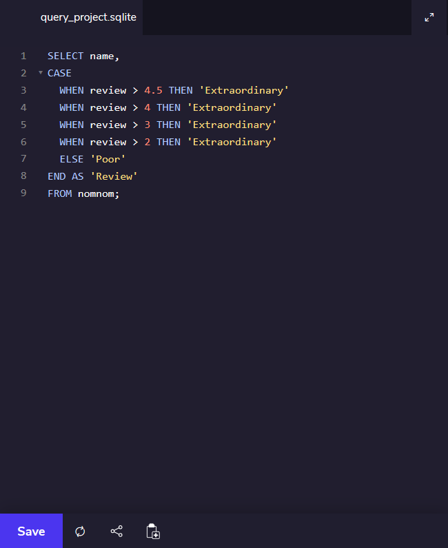 Screenshot_2020-04-23 Writing Queries Codecademy