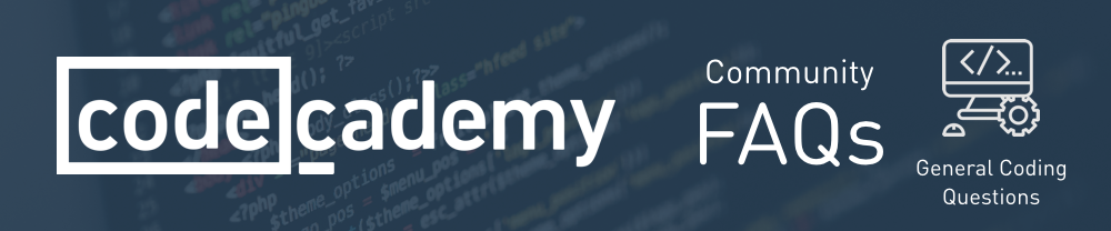 Codecademy%20Community%20FAQs%20on%20General%20Coding%20Questions