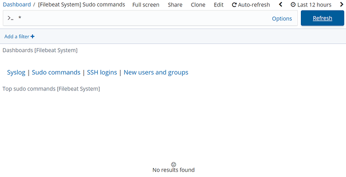Unresolved] Absolutely nothing shows in any [Filebeat
