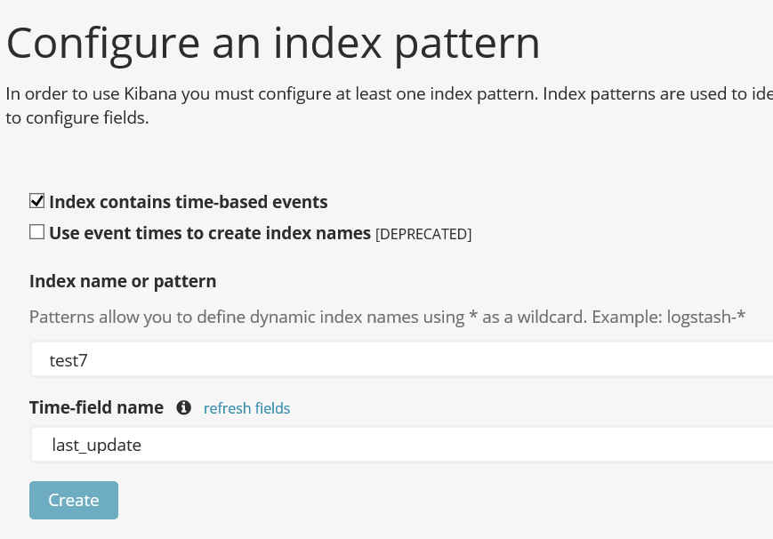 Mapping a JSON fields - Kibana - Discuss the Elastic Stack