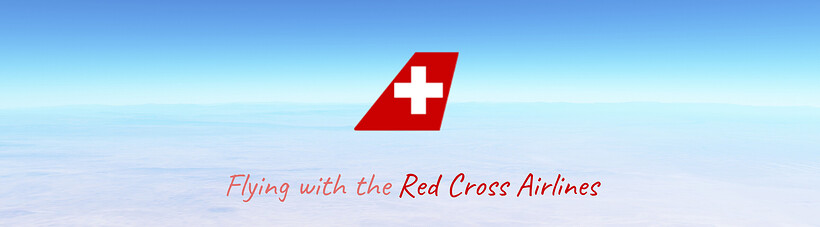 Flying witht the Red Cross Airlines