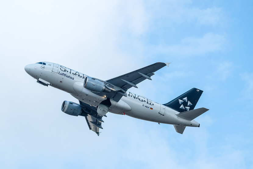 Lufthansa A319 Star Alliance