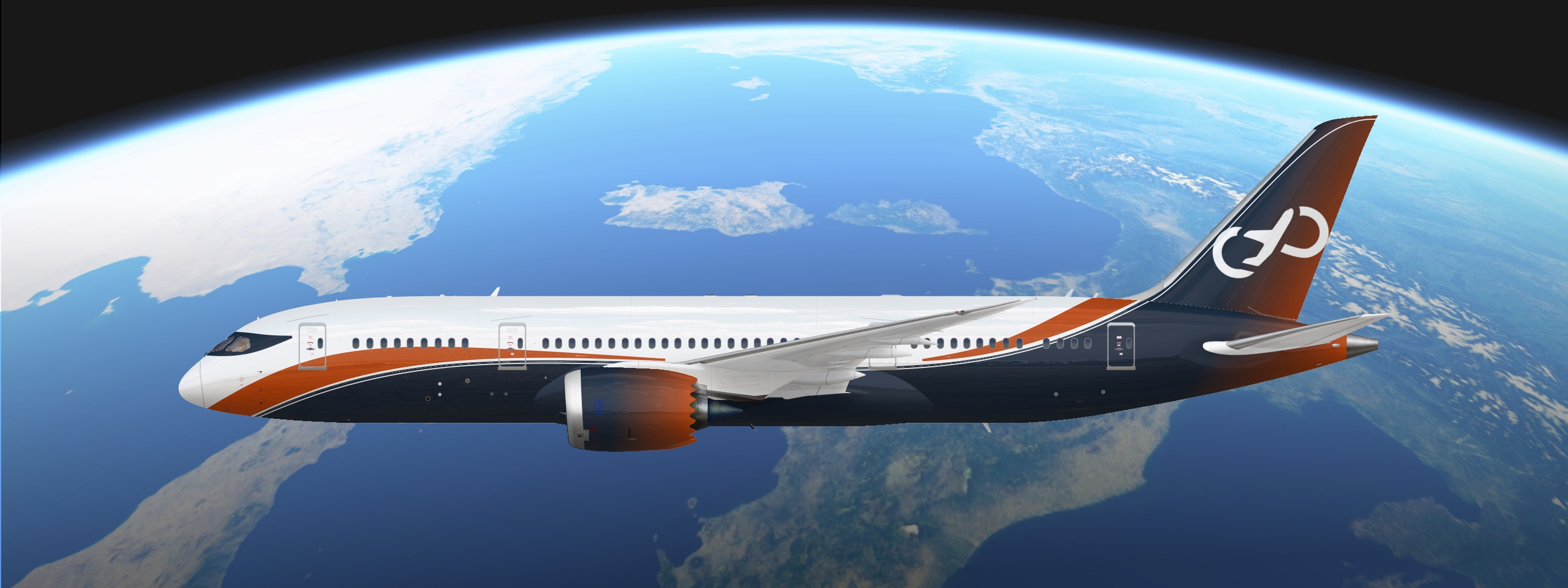 Boeing 787-8 IF Global concept