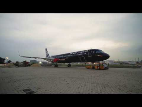 Image result for air new zealand a321neo all black livery in the shop