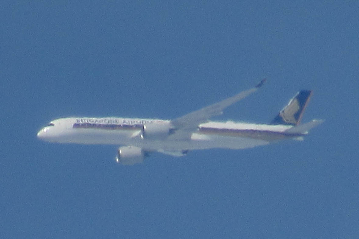 Singapore Airlines - Airbus A350_