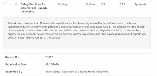 ICC Safety Practices for Commercial Property Approval