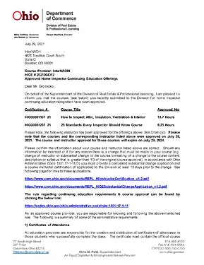 Ohio Approval Letter - Attic and 25 Standards_Page_1