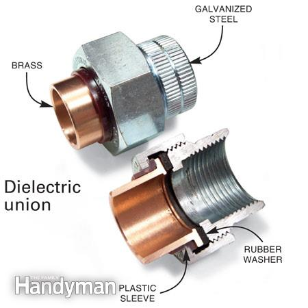 Plumbing - water heater dielectric union.JPG