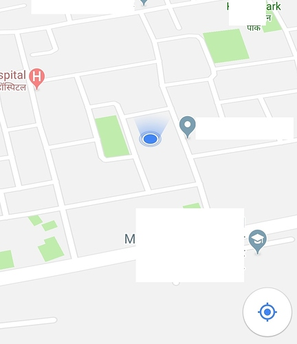 Google map With current location marker in Ionic 3 - Ionic ... on google maps update, google maps path, google maps screenshot,