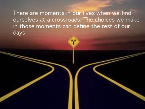 Image result for Life at Crossroads